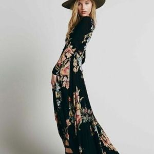 Free People First Kiss Garden Floral Dress